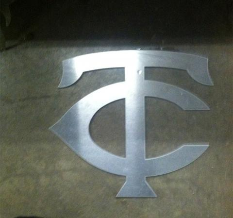 Cutout of the Twins Logo