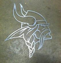 Outline of Viking Head
